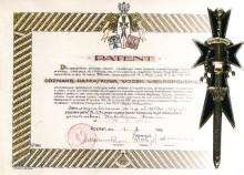 K.Cz. Odznaka pamiątkowa Wojsk Wielkopolskich  1