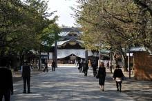 Świątynia Yasukuni - Tokio.