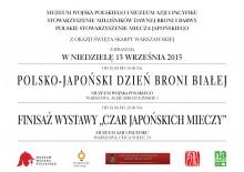 polsko japoński dzień z bronią białą