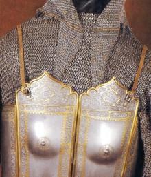 il.1. Zbroja szacha Sulejmana z dynastii Safawidów. II poł XVII w.