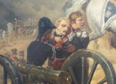 Bitwa pod Somo-Sierra. Fragm. obrazu Horacego Verneta