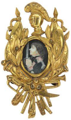 Ozdoba na bandolier szabli generała Stanisława Mokronowskiego z okresu Insurekcji Kościuszkowskiej
