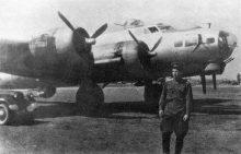 Samolot B-17 890. Pułku Lotnictwa Bombowego ZSRR