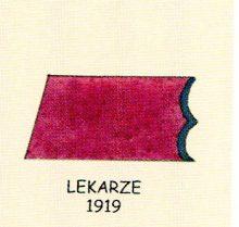 K.Cz. patki na kołnierzu kurtki - lekarze 1919