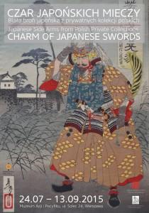 Plakat wystawy - Czar japońskich mieczy