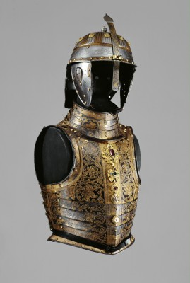 Zbroja wykonana dla wielkiego wezyra Sinan Paszy, Kunsthistorisches Museum w Wiedniu