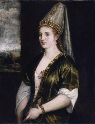 Tycjan, La Sultana Rosa - portret Roksolany