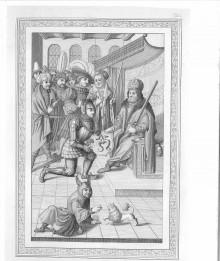 il.3 .Nadanie herbu Odrowąż (reprint z XIX w)