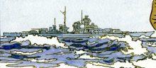 il.1 Bismarck - wizja Andrzej Klein 1989 (zbiory autora rekomendacji)